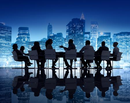 reunion de personas: Reuni�n de Negocios