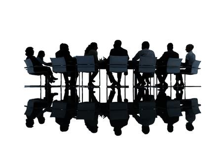 Gruppo di Business People Meeting Archivio Fotografico - 35328033