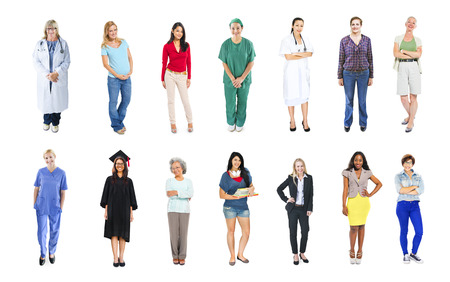 different jobs: Diverse Business People with Different Jobs Stock Photo
