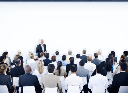 seminar: Multiethnic Group of People in Seminar