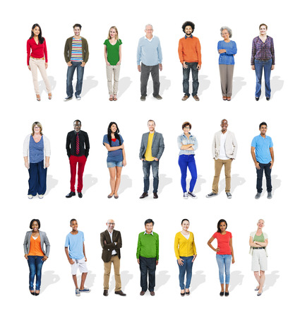 Diversity Ethnicity Multi-Ethnic Variation Togetherness Unity Team Concept photo