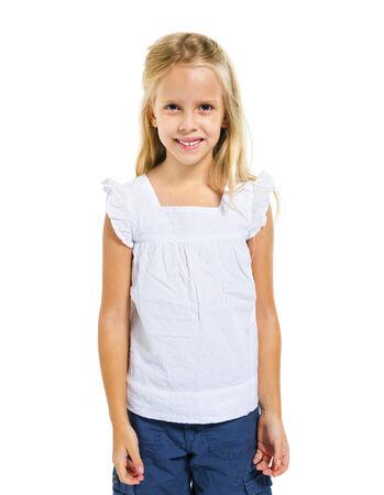 어린 소녀: Little Girl 스톡 사진