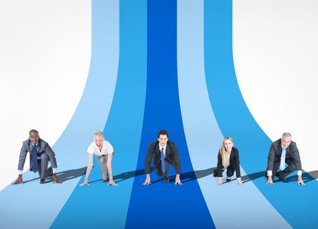 pista de atletismo: Competencia de Negocios
