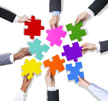 Zakelijk Teamwork Stockfoto