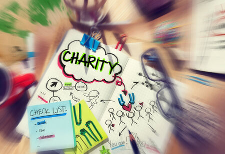 check list: Check List Sharing Help Charity Concepts