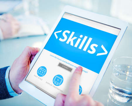 Skills Ability Aptitude Personal Efficacy Concepts Фото со стока