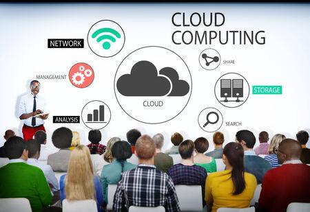 cloud search: Group of People in Cloud Computing Seminar
