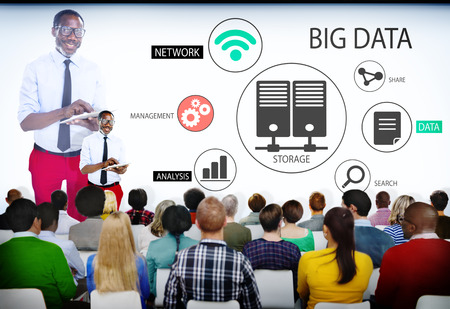 Group of People in Big Data Seminar photo