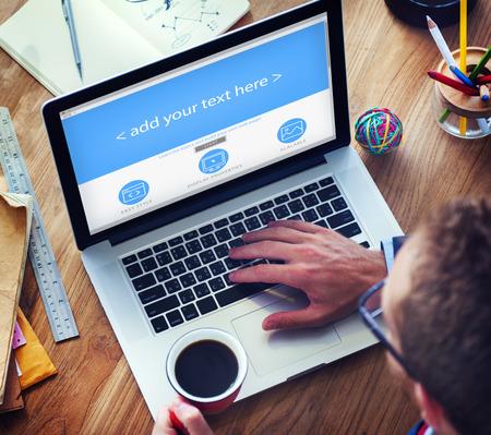 実業家 Web デザイン コピー スペース コンセプト