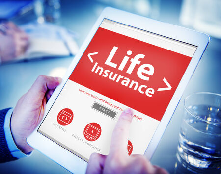 a place of life: Life Insurance Protection Safety Retirement Concepts