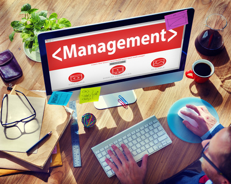 Management Planning Leader Manager Organization Concepts Stock Photo