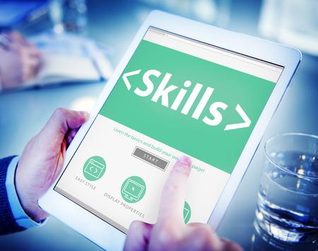 aptitude: Skills Ability Aptitude Personal Efficacy Concepts