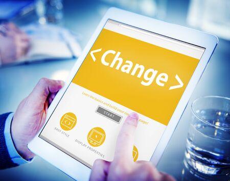 Business Change Creativity motivation Office Working Concept