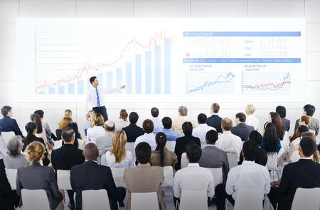 liderazgo empresarial: Presentación de Negocios