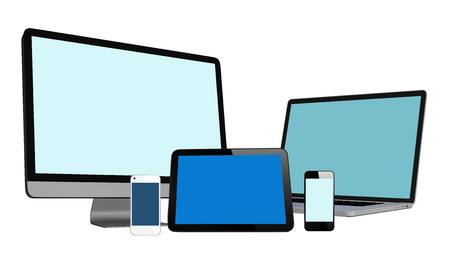 3D Collection of Digital Devices photo
