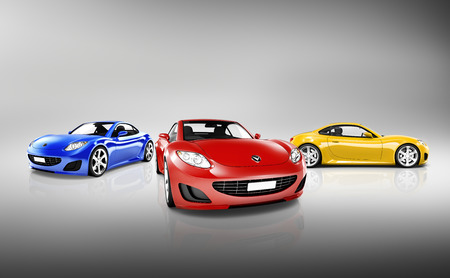 speeding car: Sports Car Collection