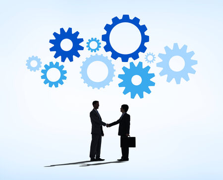 succesful: Business Deal Succesful Stock Photo