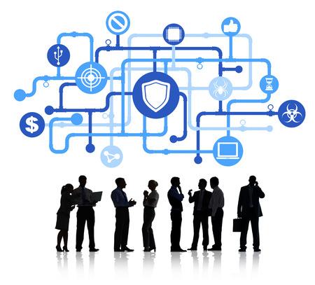 computer security: Antivirus Symbol