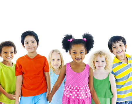 holding  hand: Kids holding hand Stock Photo