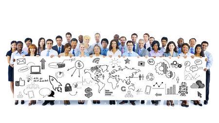 planeaci�n estrategica: La planificaci�n estrat�gica de negocios Foto de archivo