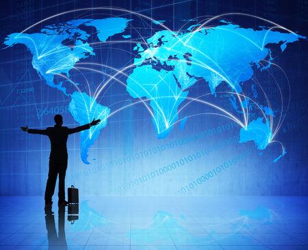 グローバル ビジネスを祝う