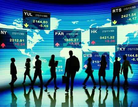 Stock Exchange Market Trading Concepts photo