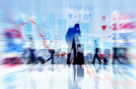 people travelling: Business People Travelling Finance Concepts