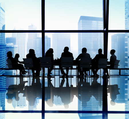 reunion de personas: Personas de negocios Reuni�n Oficina Concepto