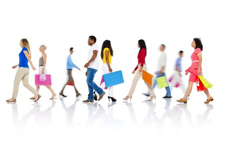 purchase: Shopping Purchase Retail Customer Consumer Sale Concept