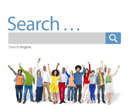 Search Browse Find Internet Search Engine Concept Stock fotó