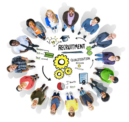 Diversity People Recruitment Search Opportunity Concept photo