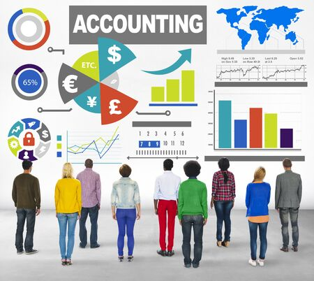 Accounting Analysis Banking Business Economy Financial Investment Concept photo