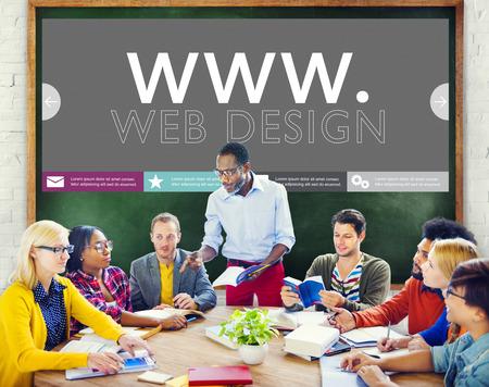 web design: Www Web Design Web Page Website Concept