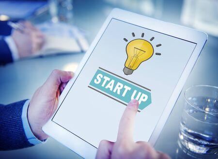 start up: Start Up Business Concept