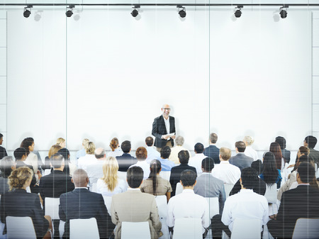 buisness: Buisness People Meeting Seminar Conference Audience Team Concept