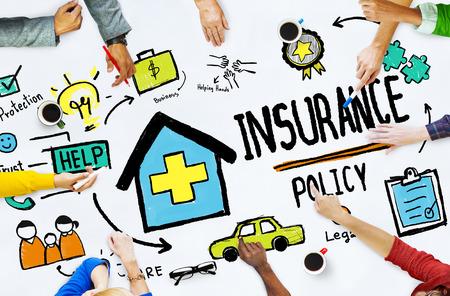 Diversiteit Casual People Insurance Beleid Meeting Concept Stockfoto