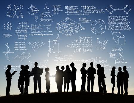 math: Formula Mathematics Equation Mathematical Symbol Geometry Information Concept Stock Photo