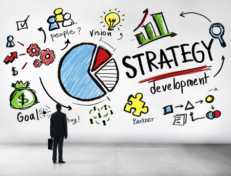 Strategy Development Goal Marketing Vision Planning Business Concept photo