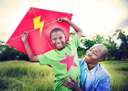 아프리카 가족 행복 휴일 휴가 활동 개념 스톡 콘텐츠 - 38514099