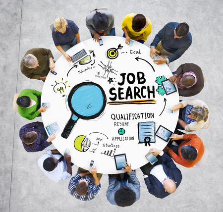 opportunities: Diversity People Opportunity Job Search Hiring Concept Stock Photo