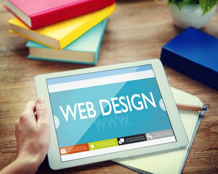 Www Web Design Webseite Website Konzept