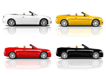Car Automobile Contemporary Drive Driving Vehicle Transportation Concept photo