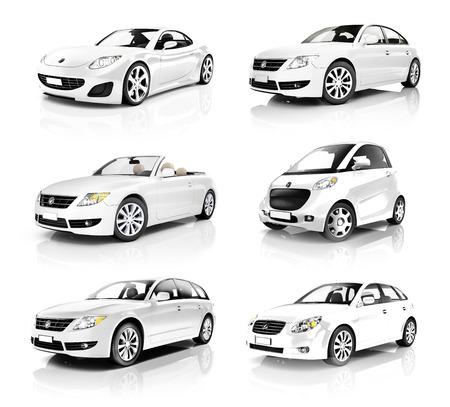 luxury car: Contemporary Shiny Luxury Transportation Performance Concept