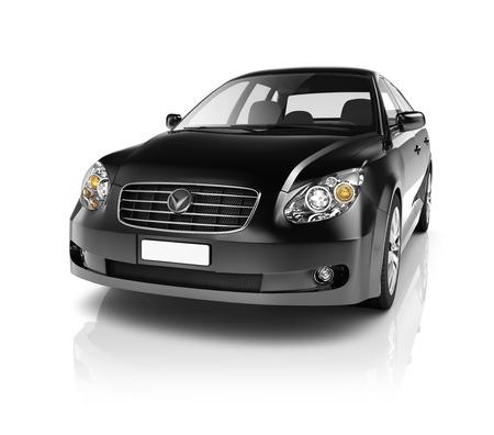 Illustration der Verkehrstechnik Car Performance Concept Standard-Bild - 38514879