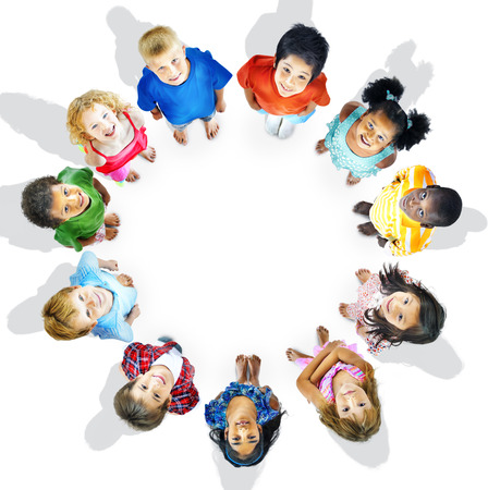 diversidad: Diversidad Inocencia Infantil Amistad Aspiraci�n Concept