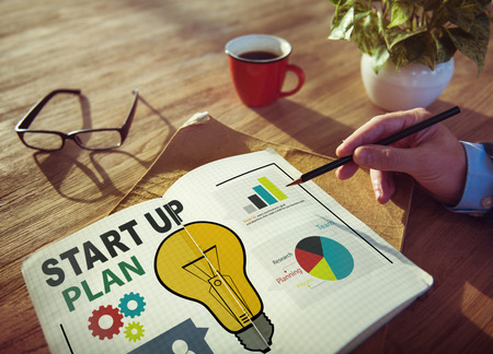 idea light bulb: Start Up Launch Business Ideas Plan Creativity Concept