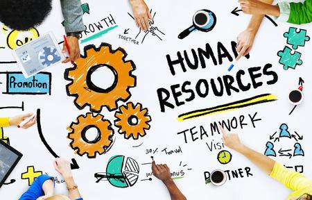 human vision: Human Resources Employment Job Teamwork Office Meeting Concept Stock Photo