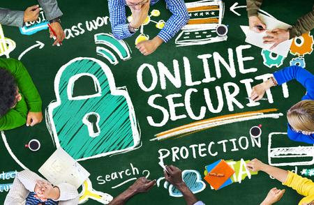 Aprendizaje de Protección de Seguridad Online Seguridad en Internet Concepto de educación