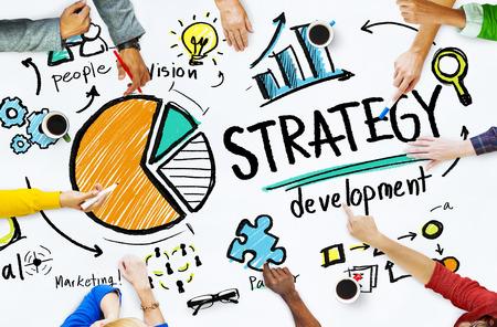 Strategie rozvoje Cíl Marketing Vision Planning Business Concept