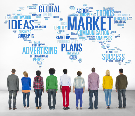 Market Business Global Business Marketing Commerce Concept photo